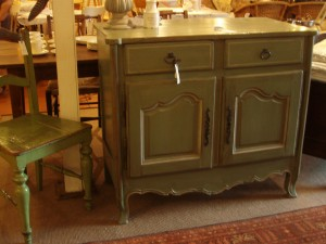 green commode new photo
