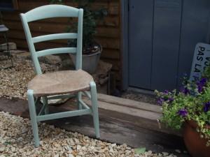 little Kempton rush chair