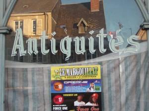 closed antique shop