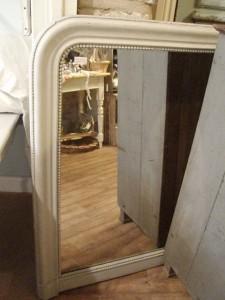 large round top mirror
