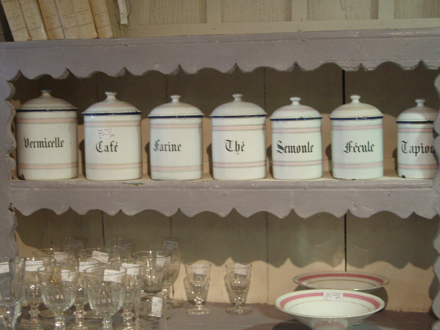 French Canisters Kitchen Enamel Kitchen Canisters Enamel Kitchen Canisters French