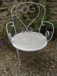 French Metal Garden Furniture French metal garden chairs gilli hanna decorative antiques french metal garden chairs metal workwithnaturefo